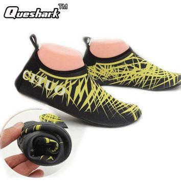 DCCKUH3 Men Women Diving Shoes Scuba Snorkeling Boots Neoprene Diving Socks Wetsuit Prevent Scratche Non-slip Swim Seaside Beach Shoes