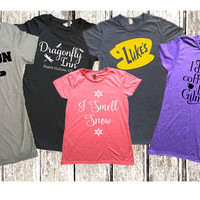 Women's Gilmore Girls Inspired Tees