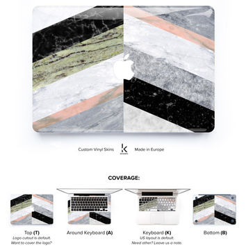 Marble Party Laptop Skin Decal Macbook Decal Macbook Skin Macbook Pro Skin Macbook Air Skin Macbook Cover Cream Marble Skin Marble Macbook