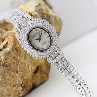 Swarovski Style Luxury Rhinestone Watch