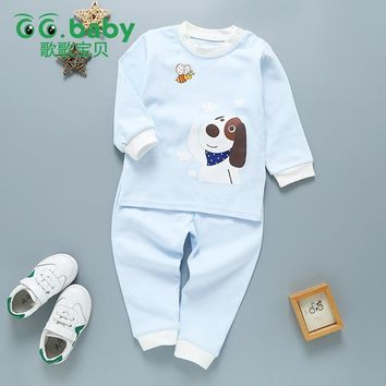 Spring Newborn Clothing Sets Baby Paw Children Clothes Baby Boys Girls Clothes Set Cotton Dog Patrol Newborn Baby Suit Infant
