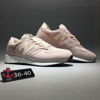 """New Balance 420"" Women Fashion Sport Casual N Words Sneakers Running Shoes"