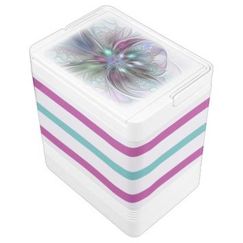 Colorful Fantasy, abstract and modern Fractal Art Cooler