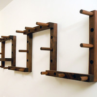 Canoe: Thru Block Coat Rack