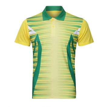 China Sportswear Quick Dry breathable badminton shirt Jerseys,Women/Men Volleyball Golf table tennis shirt clothes POLO T Shirts
