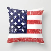 Americana Throw Pillow by Nicklas Gustafsson | Society6