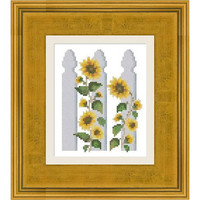 Sunflowers -  PDF Cross Stitch Pattern - INSTANT DOWNLOAD