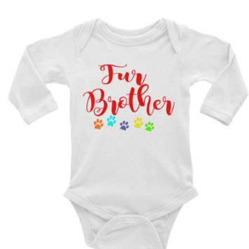 Fur Brother Long or Short Sleeve Onesuit
