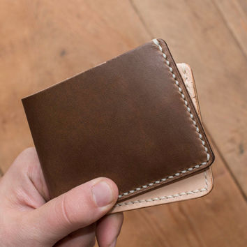 Naked Driftwood 6 Card Traditional Leather Wallet
