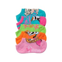 Girls Toddler Frozen Socks 5 Pacl