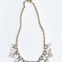 Gemma Crystal Statement Necklace