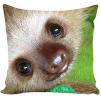 Baby Sloth Pillow