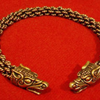 Norse Wolf Torc
