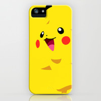 Pikachu iPhone & iPod Case by Rebekhaart