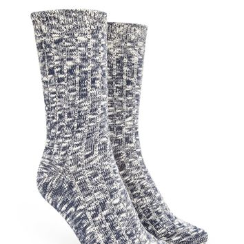 Marled Knit Crew Socks - Accessories - Shop All - Socks + Tights - 2000215319 - Forever 21 EU English