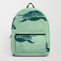 Down with the turtles Backpack by anipani