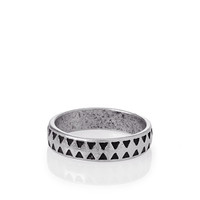 Etched Geo Ring