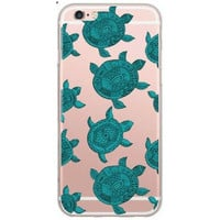 Green Turtle Case for iPhone 5 5S 6 6S