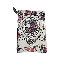 Liquor Brand Cosmetic Bag Gypsy Queen Beautiful Gypsy Tattoo makeup purse