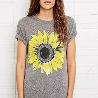 Truly Madly Deeply Sunflower Solo Tee - Urban Outfitters