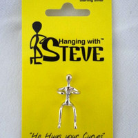 Steve- solid sterling silver ear cuff jewelry