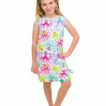 Girl's Octopus Dress by Gretchen Scott Designs