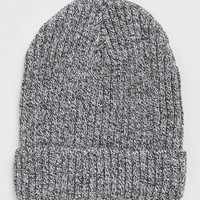 Black And White Ribbed Beanie - New This Week - New In
