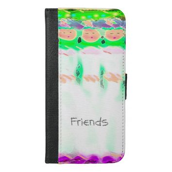 """Friends"" Design IPhone Wallet Case"