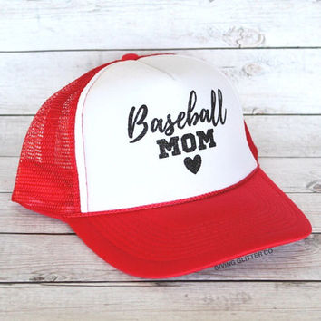 Baseball Mom // Trucker Hat