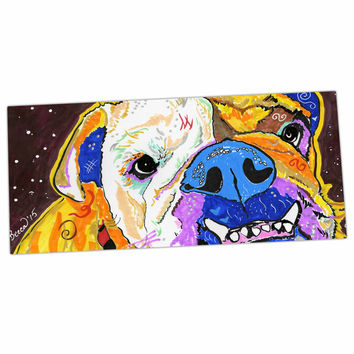"Rebecca Fisher ""Tucker"" Bulldog Desk Mat"