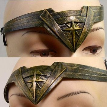 ONETOW DC Justice League Wonder Woman Cosplay Props Headdress Anime Accessories Hairpin Superman VS Batman