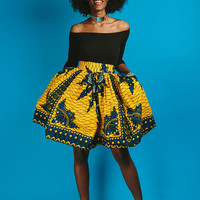 TIFE SKIRT (yellow)