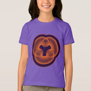 Girl's American Apparel Fine Jersey Sacred T-Shirt