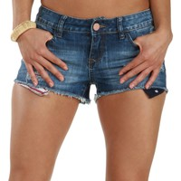 Sale-american Girl Peek-a-boo Denim Shorts
