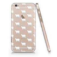 Cute LLama Alpaca Pattern Text Slim Iphone 7/8 Case, Text Clear Iphone 7/8 Hard Cover Case For Apple Iphone 7/8 -Emerishop (iphone 7/8)