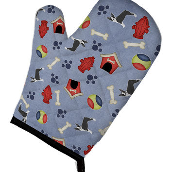 Dog House Collection Boston Terrier Oven Mitt BB4053OVMT