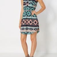Aztec Chiffon Shirt Dress | Shirt Dresses | rue21