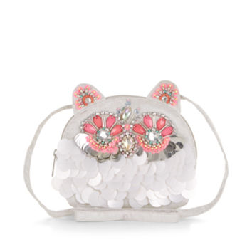 Opehelia Owl Embellished Across Body Bag | Multi | Accessorize