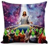 Jesus Died For Your Sims Couch Pillow