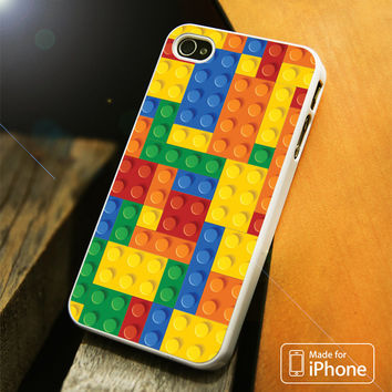 Lego Brick Colorful iPhone 4(S),5(S),5C,SE,6(S),6(S) Plus Case