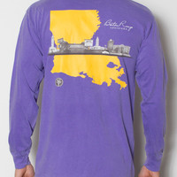State Traditions - Baton Rouge Skyline Long Sleeve