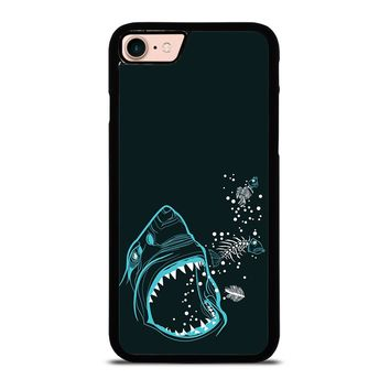 MINIMALIST JAWS iPhone 8 Case