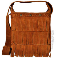 Minnetonka Cross Body Hippie Fringe Shoulder Bag on Sale for $49.95 at HippieShop.com