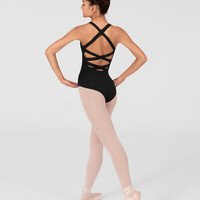 Free Shipping - Adult Crisscross Back Tank Leotard by NATALIE