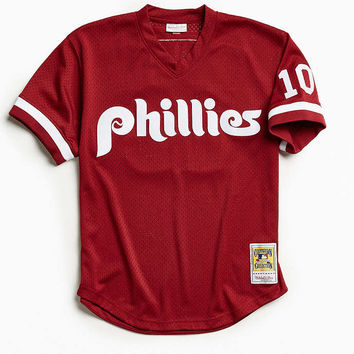 Mitchell & Ness Philadelphia Phillies Jersey - Urban Outfitters