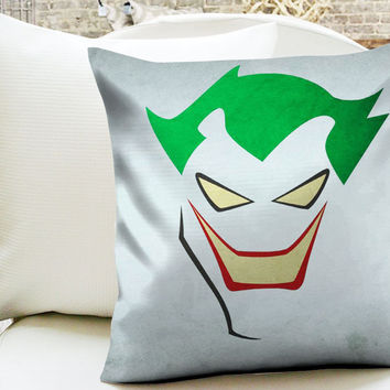 Joker Minimalist Superhero Pillow Cases