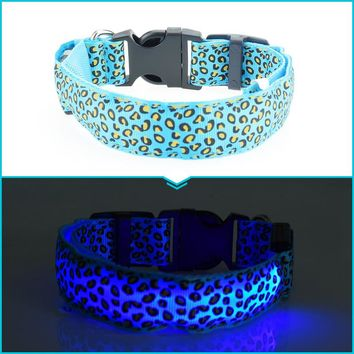 For Every Collar You Buy We Will Donate $1.00 To The ASPCA Help Us Save A Dog Or Cat Glow in the dark Cat or Dog Adjustable Collar