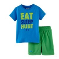 Under Armour Boys' Infant UA Eat Sleep Hunt 2-Piece Set