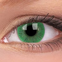 Green Contact Lenses 90 Day, Green Colour Lens 90 Day | EyesBright.com