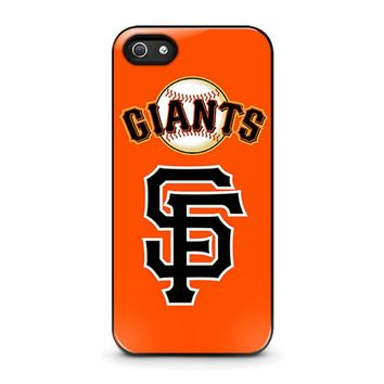 SAN FRANCISCO GIANTS 3 iPhone 5 / 5S / SE Case Cover